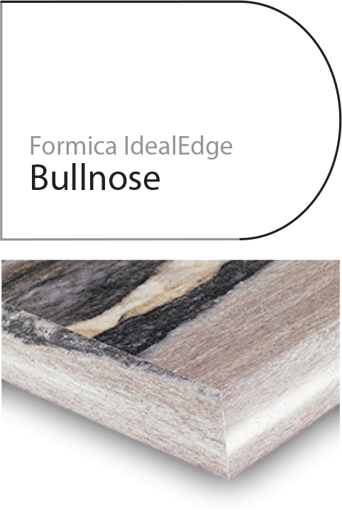 bullnose laminate edge profile
