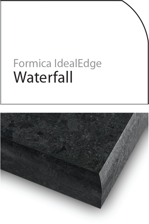 waterfall laminate edge profile